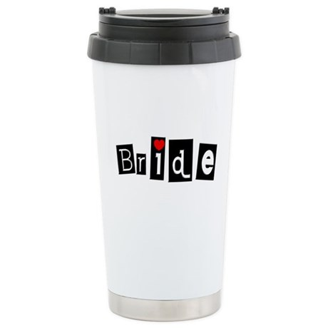 Bride (Square) Stainless Steel Travel Mug