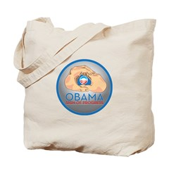 Obama Sign of Progress Tote Bag