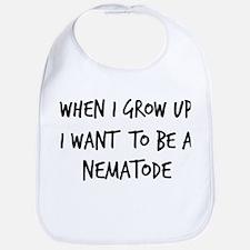 Grow up - Nematode Bib