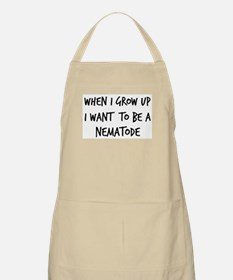 Grow up - Nematode BBQ Apron