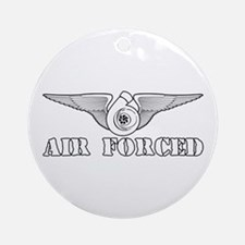 Air Forced Ornament (Round)