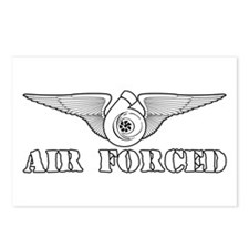 Air Forced Postcards (Package of 8)