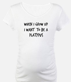 Grow up - Platypus Shirt