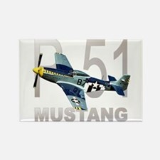P-51 MUSTANG Rectangle Magnet