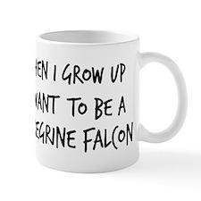 Grow up - Peregrine Falcon Small Mug