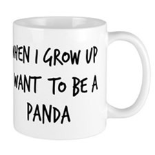 Grow up - Panda Small Mug