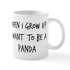 Grow up - Panda Small Mugs