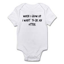 Grow up - Otter Infant Bodysuit