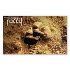 FOZZY All That Remains Rectangle Decal
