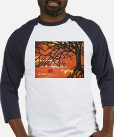 Cute Abstract tree Baseball Jersey