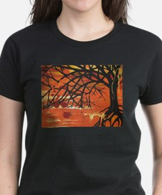 Unique Abstract tree Tee