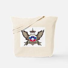 Slovenia Emblem Tote Bag