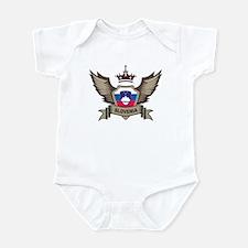 Slovenia Emblem Infant Bodysuit