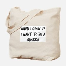 Grow up - Quokka Tote Bag