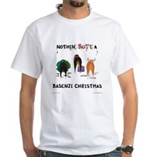 Nothin' Butt A Basenji Xmas Shirt