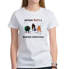 Nothin' Butt A Basenji Xmas Tee