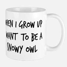 Grow up - Snowy Owl Mug