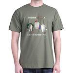 Nothin' Butt A Bichon Xmas Dark T-Shirt