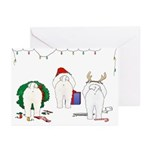 Bichon Frise Christmas Cards (Pk of 20)