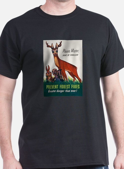 Prevent Forest Fires T-Shirt