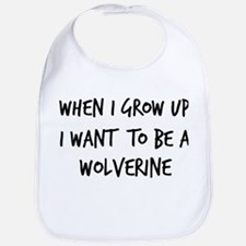 Grow up - Wolverine Bib
