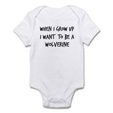 Grow up - Wolverine Infant Bodysuit