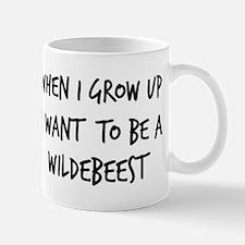 Grow up - Wildebeest Mug