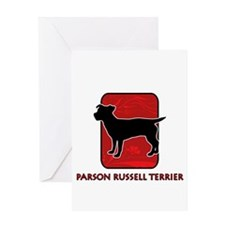 Parson Russell Terrier Greeting Card