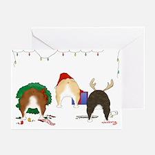 Bulldog Christmas Greeting Cards (Pk of 10)