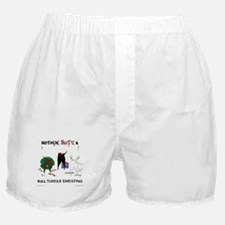 Nothin Butt Bull Terrier Xmas Boxer Shorts