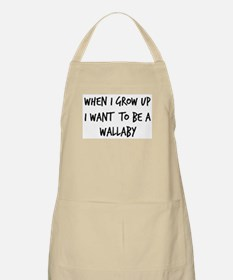 Grow up - Wallaby BBQ Apron
