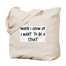 Grow up - Stoat Tote Bag