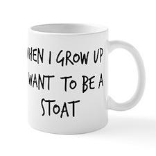 Grow up - Stoat Mug