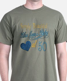 Blue Jeans 50th T-Shirt
