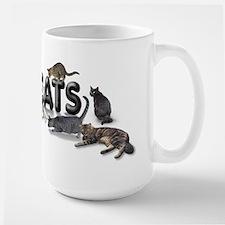 "Mug""I love Cats"""