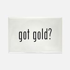 got gold? Rectangle Magnet (10 pack)