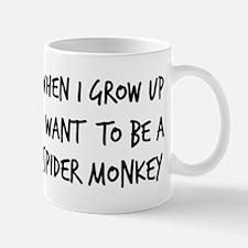 Grow up - Spider Monkey Mug