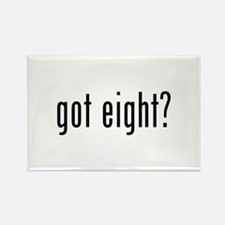 got eight? Rectangle Magnet (10 pack)