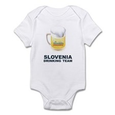 Slovenia Drinking Team Infant Bodysuit
