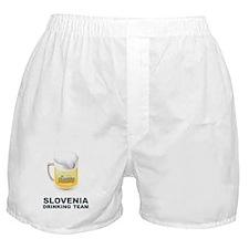 Slovenia Drinking Team Boxer Shorts