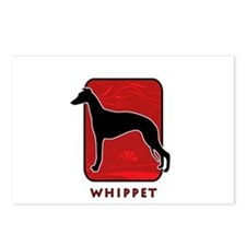Whippet Postcards (Package of 8)