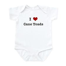 I love Cane Toads Infant Bodysuit