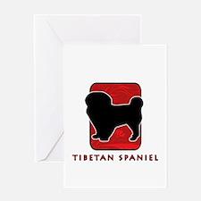Tibetan Spaniel Greeting Card