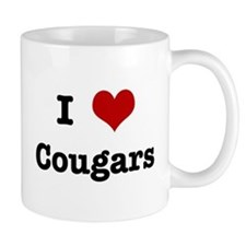 I love Cougars Mug