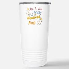 Wild Wacky Aunt Travel Mug