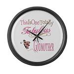 Fabulous Godmother Large Wall Clock