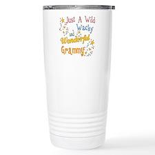 Wild Wacky Grammy Stainless Steel Travel Mug