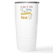 Wild Wacky Nana Stainless Steel Travel Mug
