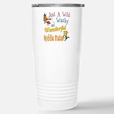 Wild Wacky Middle Sister Thermos Mug