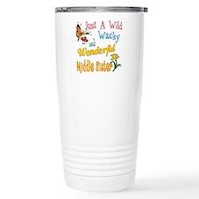 Wild Wacky Middle Sister Travel Mug